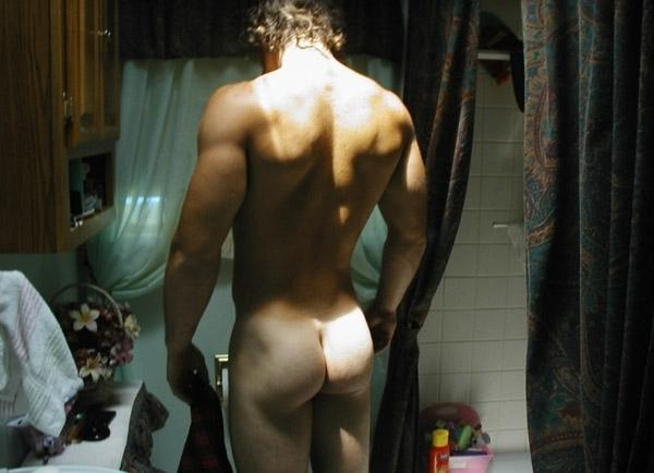 Sexy Hunk Dude Naked Show Hot Ass