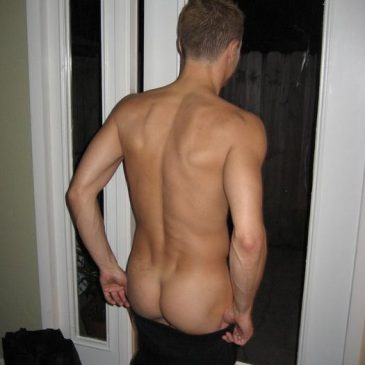 Sexy Boy Showing His Nice And Firm Ass