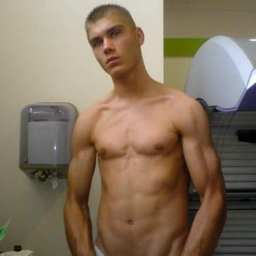 Good Looking Boy Shows Hot And Muscled Body