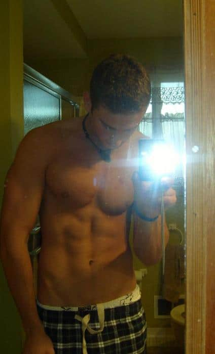 Horny Hunk Guy In Boxer Shorts
